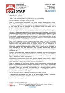 Carta a Manuela Carmena