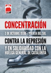 Solidaridadcon la huelga en Cataluña