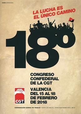 18 Congreso CGT
