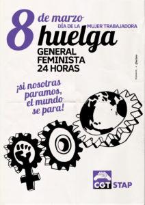 8 de marzo. Huelga General Feminista