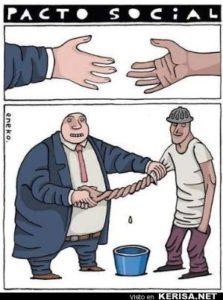 """IV AENC de CEOE, CEPYME, CC.OO y UGT: Los agentes sociales, vuelven a cumplir con su """"función constitucional"""" de garantizar la tasa de ganancia del capital"""