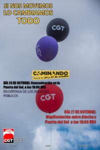 Llamamiento a la movilización para el 24 y 27 de octubre: Si nos movemos, lo cambiamos todo