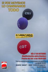 #NosMovemos24y27O RNtv Rueda de Prensa, CGT presenta el ciclo de movilizaciones contra la crisis-estafa
